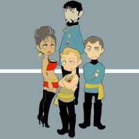 Star Trek: TOS 41 by matsutakedo