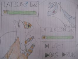 Latiklon vs Latios Battle Screen by ThatHinchtownFan