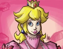 Peach, just Peach by TheArtrix
