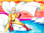 Saitama - One Punch Man by LadyDeadPooly