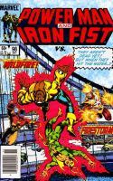 Power Man and Iron Fist vs. Wildfire and Firestorm by Gwhitmore