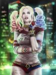 Suicide Squad Harley by anime4ewa