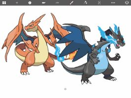 We Are The Collective Mega Charizard by TheRebirthOfVaati