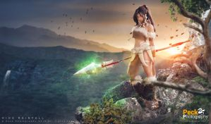 Nidalee (LoL): The untamed know no fear by DidsRainfall