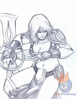 Sivir pencils by sykoeent