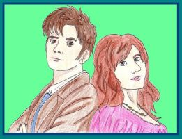 The Doctor And Donna by CaptainKPeanuts