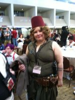 River Song with Fez by Amphitrite7