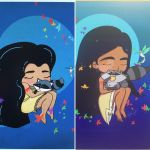 Pocahontas before and after by aprilmdesigns