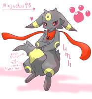 Fluffy Ninjachu95 by Naru-pika