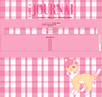 .: Journal skin for =Candii-Mow :. by T-e-a-K-i-t-t-y