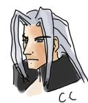 Sephiroth - Final Fantasy VII doodle by bpanthersg