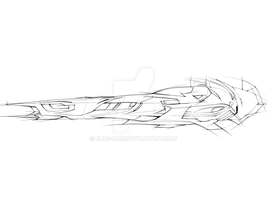 Wipeout Lineart by Blue-Raie