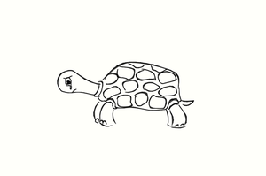 Turtle is crying by h2okerim