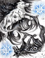 Yin Yang Wolves BY lucky978 by TheWolfPack