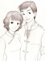 Chinese Couple by cocon