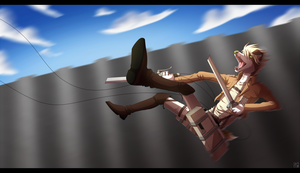 attack on titan by Pyttinski