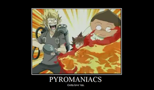 Pyromaniacs by RandomlyEvilXirroq