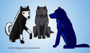 C - Crisis, Khewolf n bonez by Jenny2-point-0