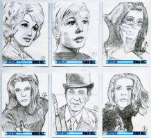 Sketch Cards: The Avengers 50th Anniversary - 3 by JasonShoemaker
