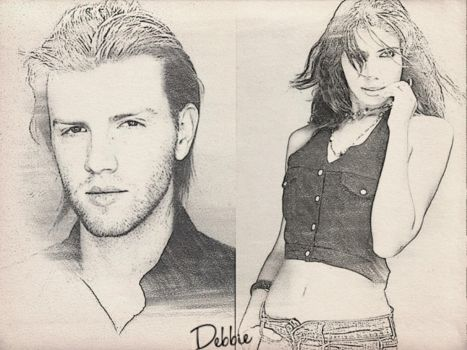 Daniel Newman and Delilah Alvares by Debbrods