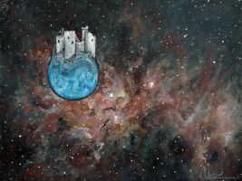 Castle in a Nebula by candymonsters