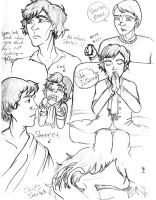 Sherlock Sketches 2 by jenabhone