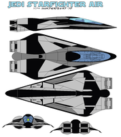 JEDI starfighter Air by bagera3005