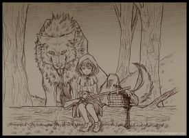 Little Red Riding Hood by Tenaga