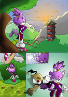 Blaze - The Order of Things Page 1 by MamboCat