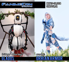 FanimeCon 2014 - Cosplay Schedule by elliria