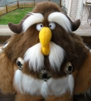 Plush Moonkin: New Eyes by garnetbear