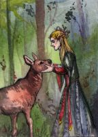 ACEO_IB_Thranduil by Felicity-MadHatter