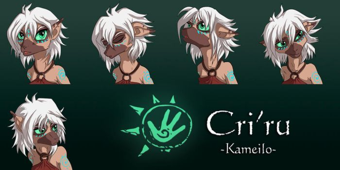 Kameilo Renpy Faceset by Ferroth