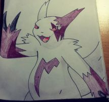 Zangoose Drawing by Krayzieee