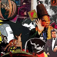 Captain Beefheart Collage by SuaveFucker
