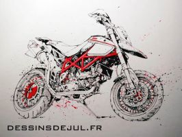 Ducati Hypermot SP3 by dessinsdejul