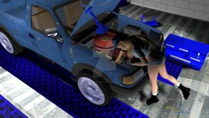 Engine Trouble by Tramp-Graphics