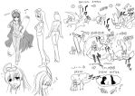 Character Design Work by panom