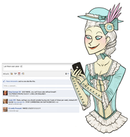 Facebook - Marie Antoinette by ARISTOCREEP
