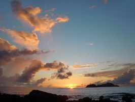 Seychelles Life: Sunset 2 by v-collins