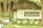 Frog girl's cottage by hivens