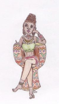 African Queen by Shirory