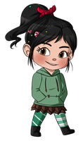 Vanellope by Sweet-DaYo