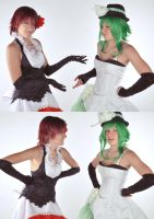 Gumi and Meiko - WTF? - Vocaloid by AlessiaAzalina