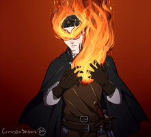 Fire Heart by CrimsonSnows