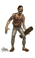 zombie dude 1 by DESEO-ONE