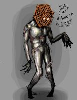 Cage Man by NeroSkwid