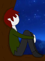 Staring At The Stars by blackblade94