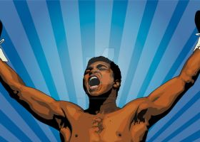 Muhammed Ali by c-charalambous