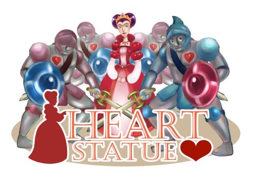 Heart Statue by wonderful7life